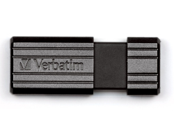 Verbatim USB2.0 PinStripe 16GB, crni