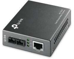 TP-Link 100M optički pretvarač, 10/100M RJ45 u 100M single-mod SC, Full-duplex, do 20km
