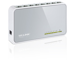 TP-Link 8-port mini Desktop preklopnik (Switch), 8×10/100M RJ45 ports, plastično kučište
