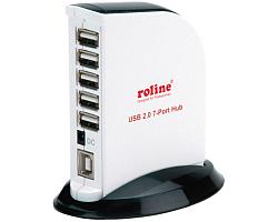 Roline USB2.0 Hub 7-portni sa napajanjem