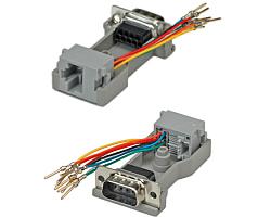 Roline adapter DB9M - RJ45F 8P/8C