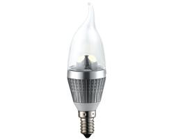 EcoVision LED žarulja E14, 3W, 230lm, 2700K, dimabilna