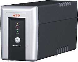 AEG UPS Protect A 500VA/300W, Line-Interactive, AVR, Data line/network protection, USB/RS232