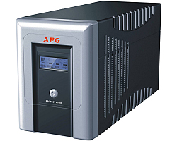 AEG UPS Protect A 1000VA/600W, Line-Interactive, AVR, Data line/network protection, USB/RS232