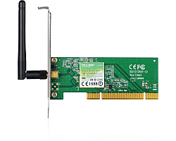 TP-Link bežični PCI adapter 150Mbps (2.4GHz), 802.11n/g/b, 1× odvojiva antena