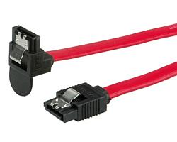 Roline SATA3 6.0Gbit/s kabel, kutni, 0.5m