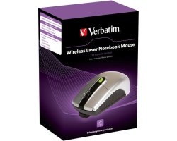 Verbatim Notebook bežični laserski miš, srebrni