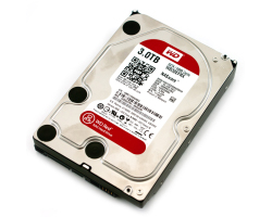 Western Digital Caviar Red 3TB S-ATA3 NASware, IntelliPower, 64MB cache (WD30EFRX)