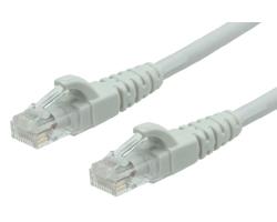 Roline UTP mrežni kabel Cat.6/Class E LSZH (Low smoke zero halogen), 1.0m, sivi