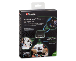 Verbatim MediaShare, bežični, USB/SD