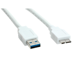 Roline VALUE USB3.0 kabel TIP A(M) na Micro A(M), 2.0m