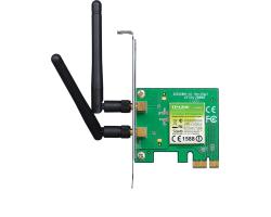 TP-Link bežični PCIe adapter 300Mbps (2.4GHz), 802.11n/g/b, 2× odvojiva antena