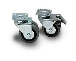 Tecnosteel kotači (6 kom.) s kočnicom (nosivost 480kg) - za Tecno 1000 (F9096)