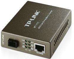 TP-Link 100M WDM optički pretvarač, 10/100M RJ45 u 100M Single-mode SC, Full-duplex,Tx:1550nm, Rx:1310nm, do 20km
