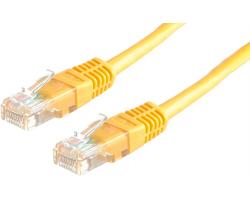 Roline VALUE UTP mrežni kabel Cat.6, 1.0m, žuti