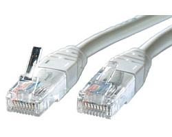 Roline UTP mrežni kabel Cat.5e, 0.5m, sivi