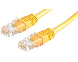 Roline UTP mrežni kabel Cat.5e, 5.0m, žuti