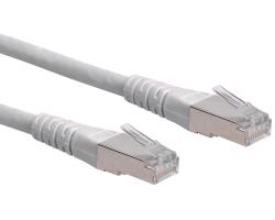 Roline S/FTP (PiMF) mrežni kabel oklopljeni Cat.6, 0.5m, sivi