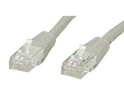 Roline UTP mrežni kabel Cat.6, 0.5m, sivi
