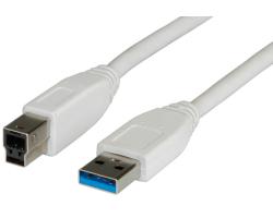 Roline VALUE USB3.0 kabel TIP A-B M/M, 3.0m