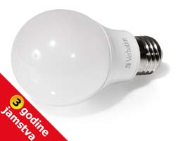 Verbatim LED žarulja E27, 6W, 480lm, 2700K