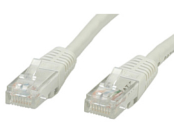 Roline VALUE UTP mrežni kabel Cat.5e, 2.0m, sivi