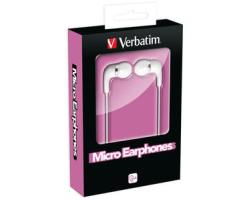 Verbatim Micro slušalice, bijele
