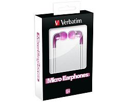 Verbatim Micro slušalice, ružičaste