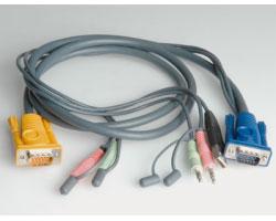 Roline komplet kabela za monitor/miš/tipkovnicu USB, 1.8m (za 14.01.3285/3286)