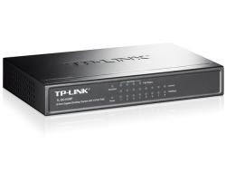 TP-Link 8-port Gigabit PoE preklopnik (Switch), 8×10/100/1000M RJ45 ports, 4×PoE ports, metalno kućište (53W)