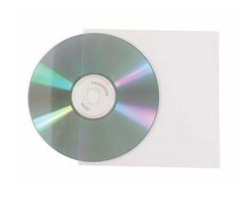 Omotnica za CD medij - prozirna plastična folija (100kom)