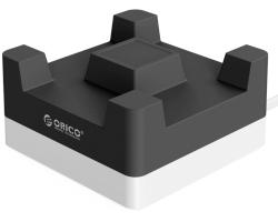 Orico 4-portni USB punjač sa držačem za smartphone, crni (ORICO CHA-4U-BK)