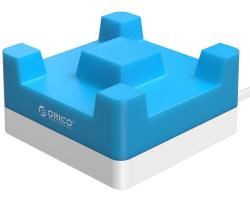 Orico 4-portni USB punjač sa držačem za smartphone, plavi (ORICO CHA-4U-BL)