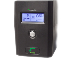 Elsist UPS Nemo2.0 65 650VA/330W, Line-Interactive, noise filtering, overvoltage/undervoltage/overload/shortcircuit protection