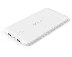 Orico punjač Powerbank LD50 Dual USB port, 5000mAh, bijeli (ORICO LD50-WH)
