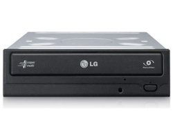 LG DVD+/-RW DL 24× SATA, crni, bulk (GH24NSD1)
