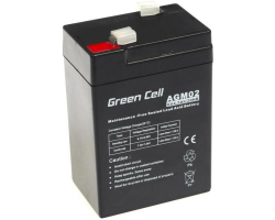 Green Cell (AGM02) baterija AGM 6V 4.5Ah