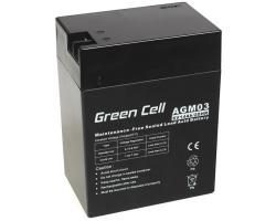 Green Cell (AGM03) baterija AGM 6V/14Ah