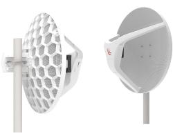 Mikrotik RBLHGG-60ad kit (Wireless Wire Dish), 2× LHGG-60ad za 60Ghz link, 60GHz antena, 802.11ad, 716MHz CPU, 256MB RAM, 1xGLAN, RouterOS L3, POE, PSU, 1Gbps full duplex do 2km