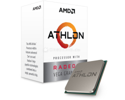 AMD Athlon 200GE 2C/4T (3.20GHz), Socket AM4, 5MB cache, Radeon Vega, 35W