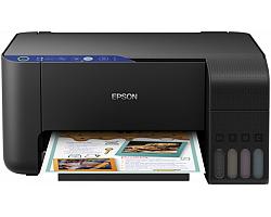 Epson EcoTank L3151 Print/Scan/Copy A4 pisač, 33/15 str/min. b/c, 5760×1440 dpi, USB/WiFi/Wi-Fi Direct, punjivi spremnici za tintu (zaliha za ispis do 3 god.) (C11CG86406)