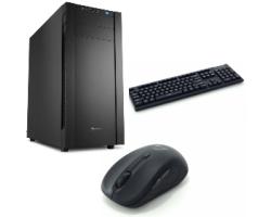 CRATOS OFFICE v2 MT 400W PC - Intel i3-8100, 4GB DDR4, 240GB SSD, Intel UHD, WIN10 PRO + tipkovnica/miš
