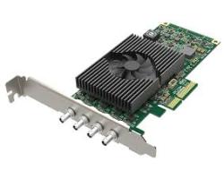 Magewell Pro capture SDI 4K Plus, LP PCIe x4, 1-channel 12G SDI, Ultra HD 4Kp60, Windows/Linux/Mac (11180)