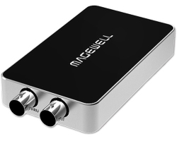 Magewell USB Capture SDI Plus, USB3.0 DONGLE, 1-channel HD/3G/2K SDI with loop-through out, plus extra audio line in/out, Plug and Play, Windows/Linux/Mac (32050)
