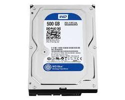 Western Digital Caviar Blue 500GB S-ATA3, 7200rpm, 16MB cache (WD5000AAKX)