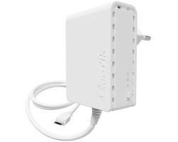 Mikrotik PL7400, PWR-LINE napajanje, microUSB konektor, Type C plug