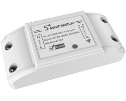 WOOX WiFi Smart preklopnik, 240VAC 10A 2200W, Tuya smart app, glasovna kontrola - Alexa & Google Assistant, Wi-Fi kontrola, Timer/Schedule postavke
