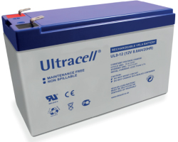 Ultracell (UL9-12) baterija AGM 12V 9Ah