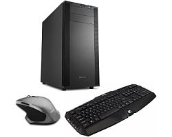 CRATOS OFFICE v1 MT 500W PC - Intel i3-8100, 4GB DDR4, 1TB HDD, Intel UHD, WIN 10 PRO + tipkovnica/miš