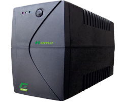 Elsist UPS Home 950VA/570W, Line-Interactive, noise filtering, overvoltage/undervoltage/overload/shortcircuit protection